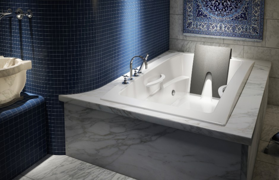 BainUltra INUA Slim Deck Bathtub