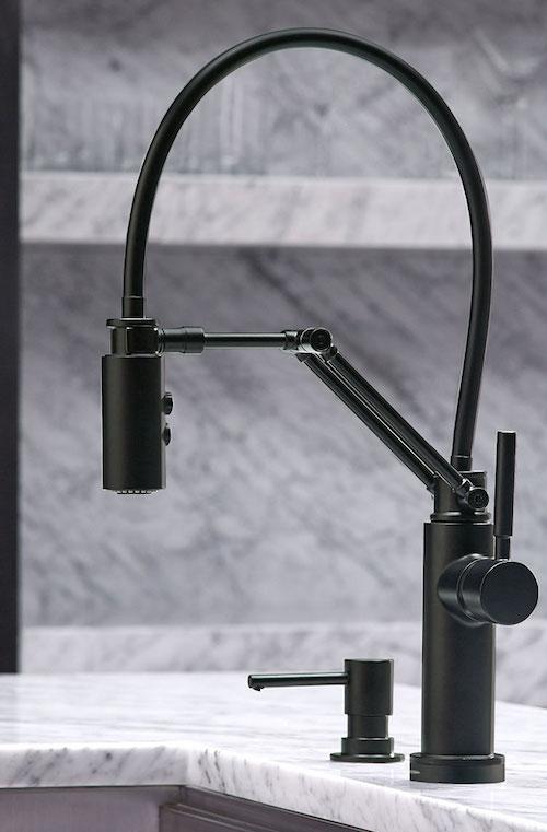 Brizo Matte Black Kitchen Faucets