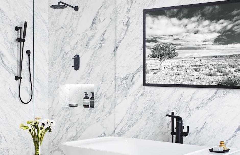 DXV Bathroom Faucets in Matte Black