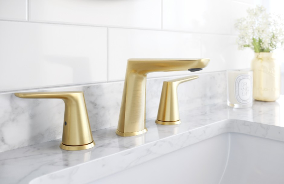 Frederick York Brushed Gold Faucet