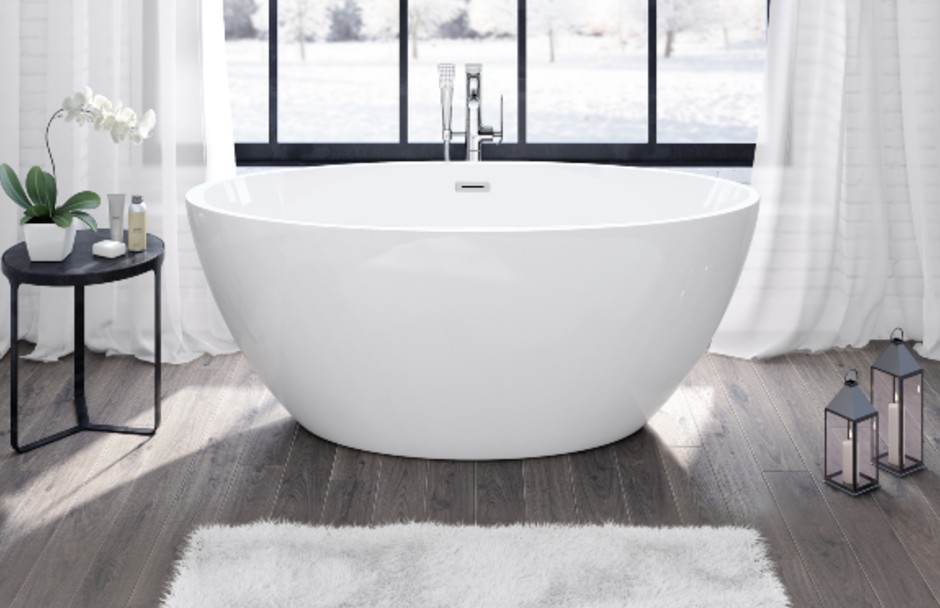 Frederick York Halo Freestanding Tub