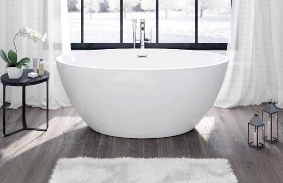Frederick York Halo Freestanding Tub