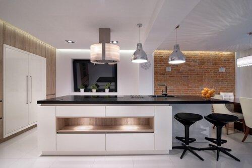 Millennials may prefer a sleek kitchen like this.