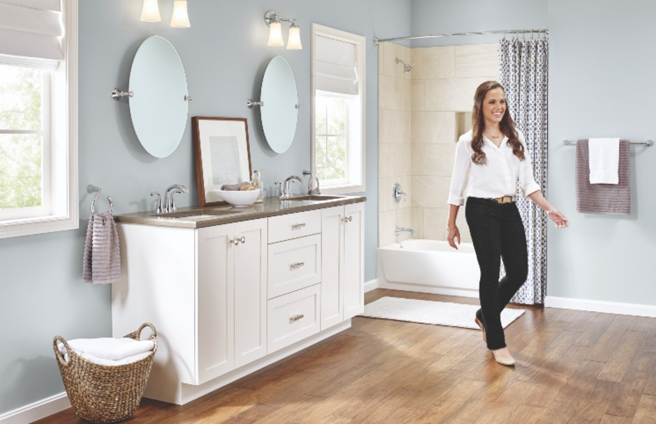 Moen Bathroom Lifestyle Image