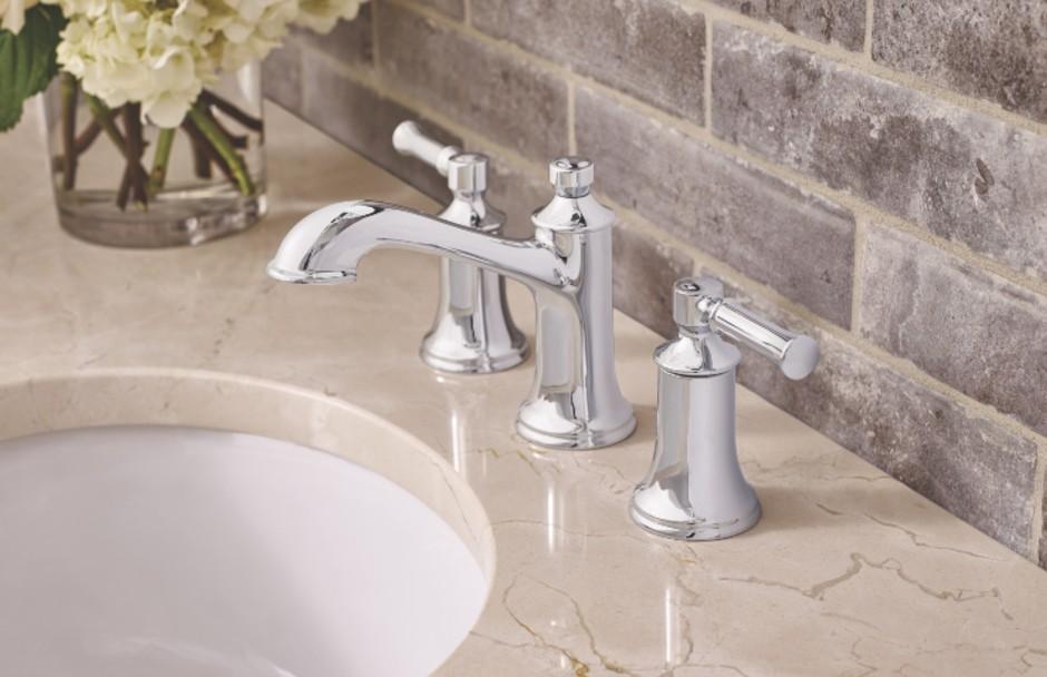 Moen Dartmoor Bathroom Tap Collection