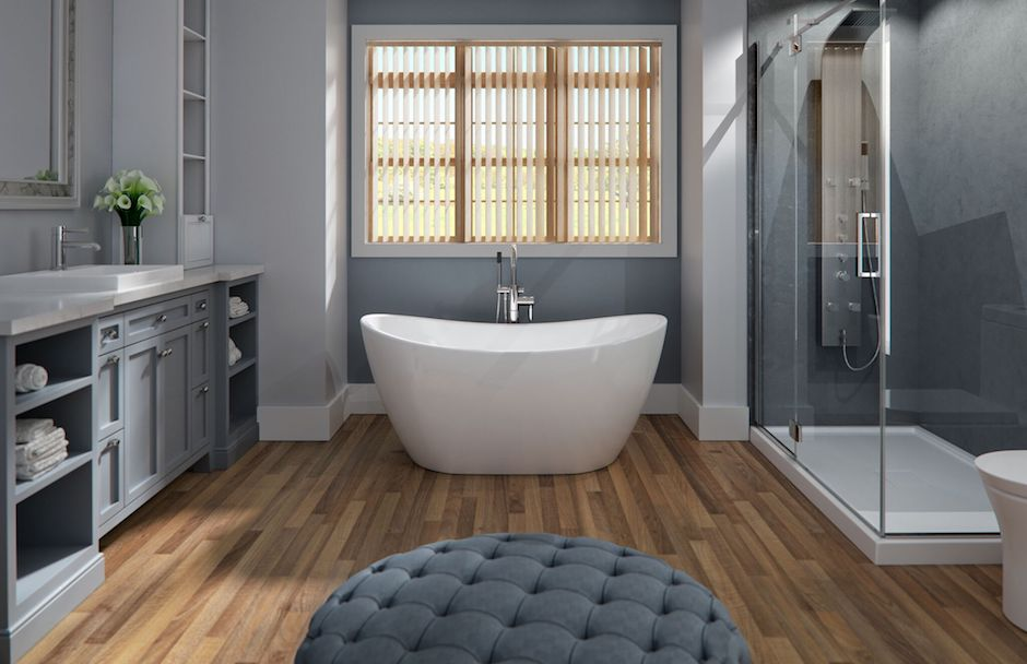 Produits Neptune Florence Azalia Tub Bathroom Ensemble