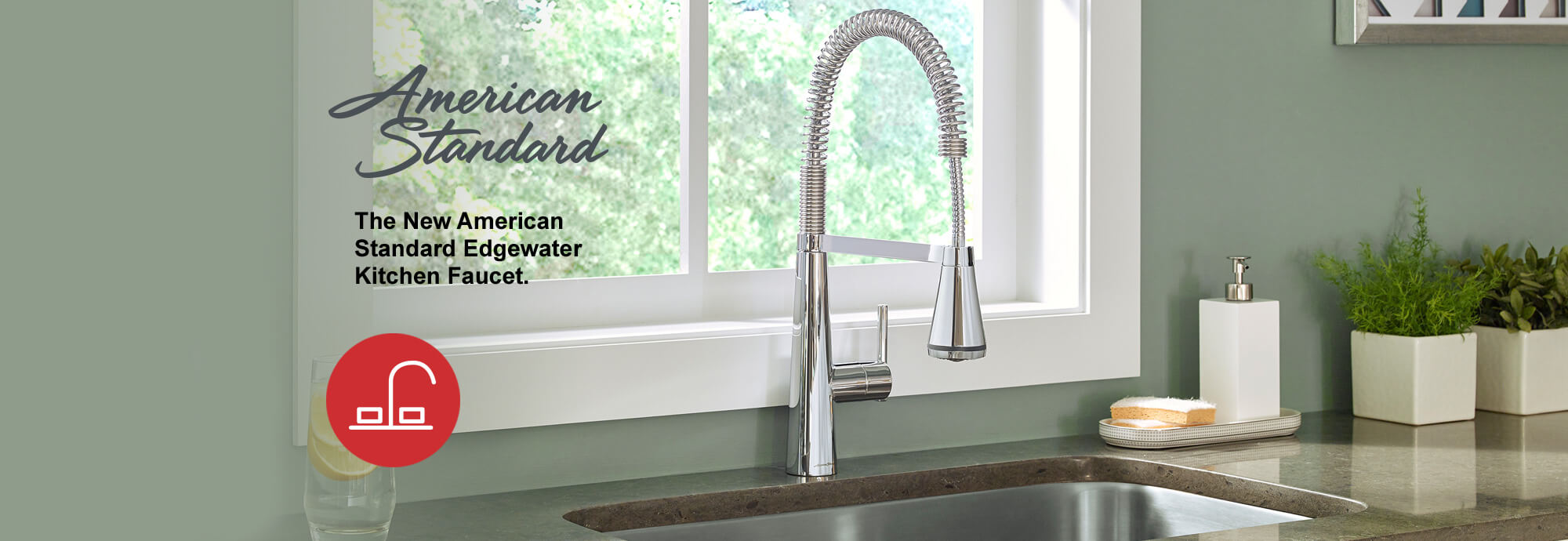 American Standard edgewater kitchen faucet