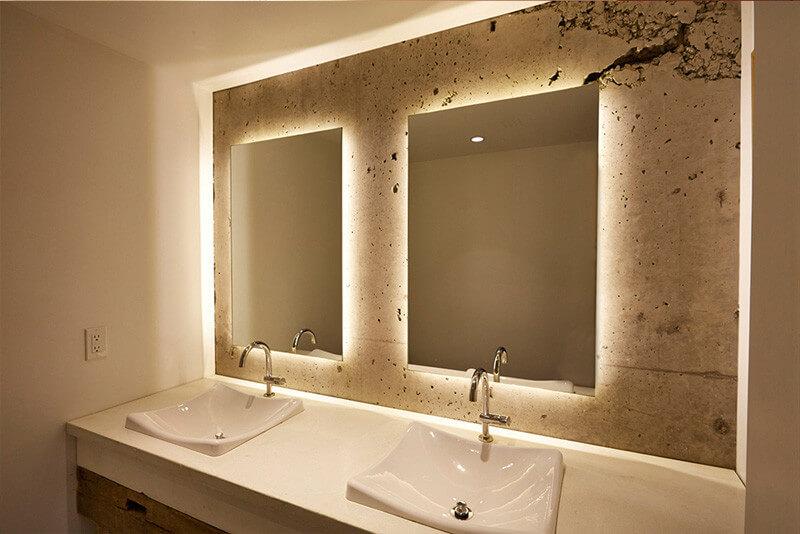 Backlit Bathroom Mirror Kitchen Amp Bath Classics