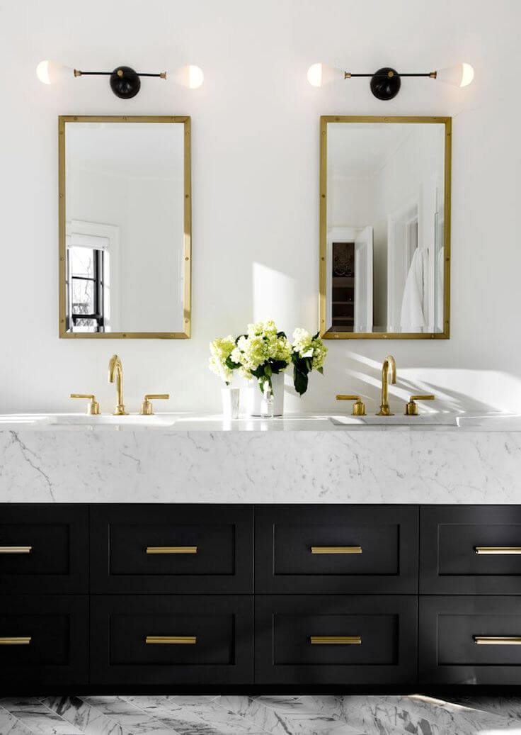 How to Choose the Best Material for Bathroom Fixtures - Brass Fixtures
