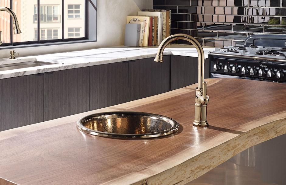 Brizo Circular Kitchen Sink Design