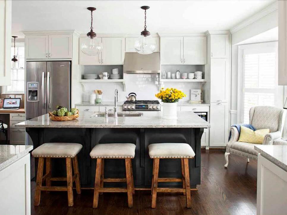 8 of Our Favourite Kitchen Island Design Ideas - Classic Kitchen Island