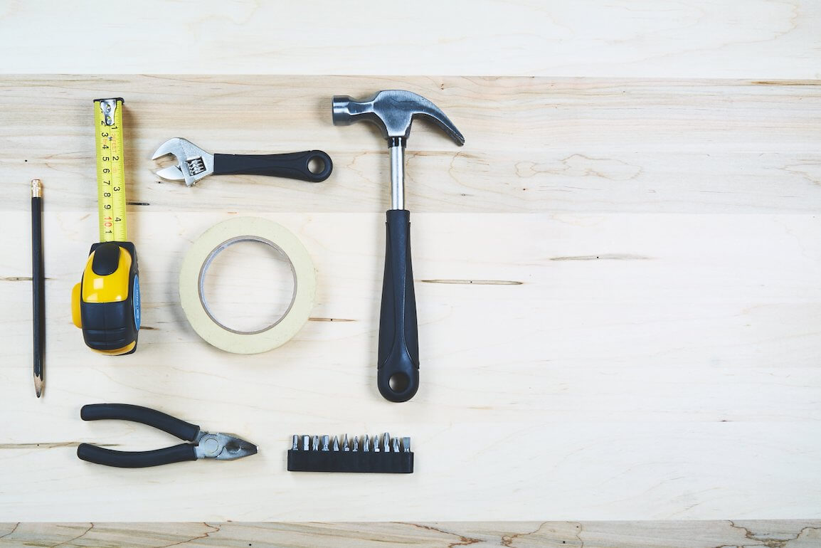 Bathroom renovation tools