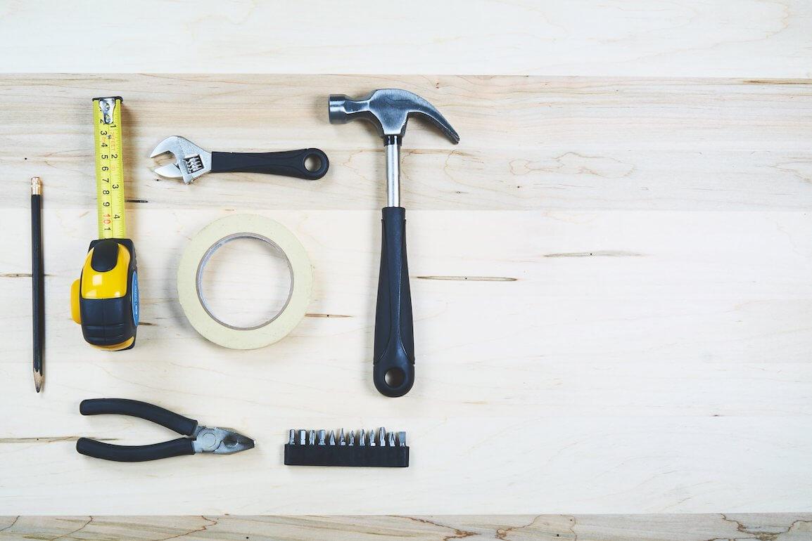 Bathroom renovation tools