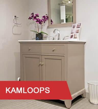 Kitchen & Bath Classics Kamloops Showroom vanity