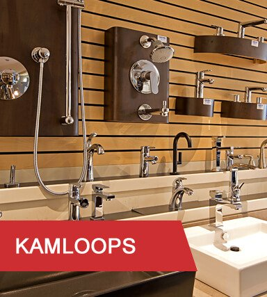 Kitchen & Bath Classics Kamloops faucets and sinks