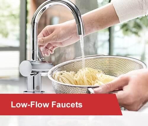 low-flow faucets