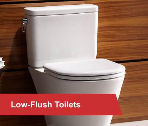 low-flush roilets