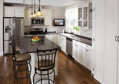 the most popular kitchen design shapes and layouts
