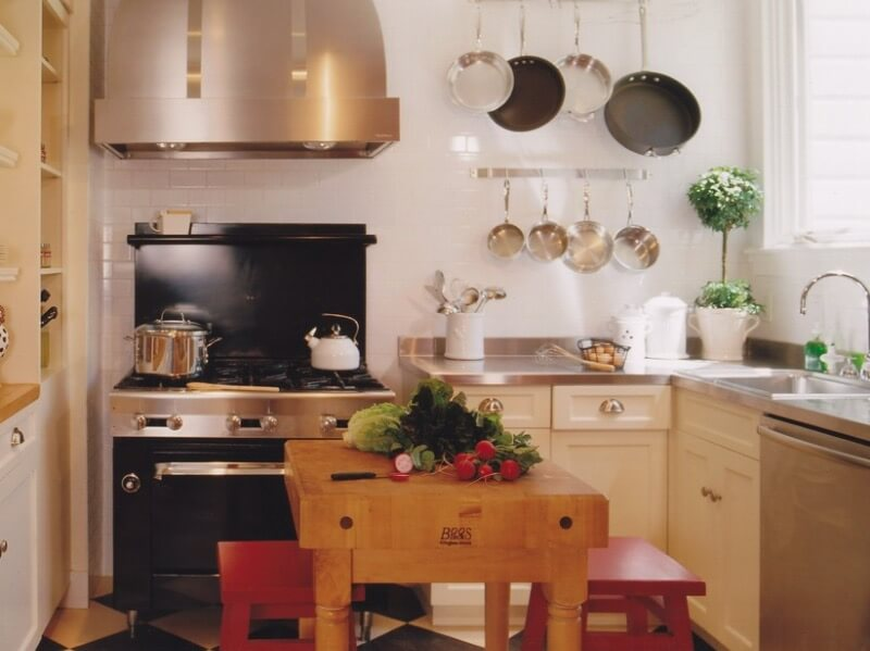 8 Stellar Strategies for Making the Most of a Small Kitchen - Add a Kitchen Island