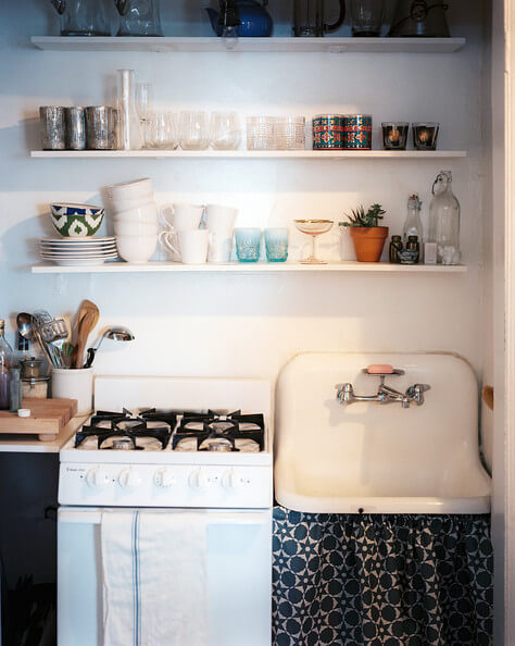 8 Stellar Strategies for Making the Most of a Small Kitchen - Put Up Shelves