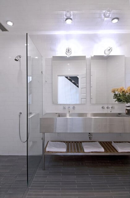 Stainless Steel Bathroom Fixtures, Stainless Steel Bathroom