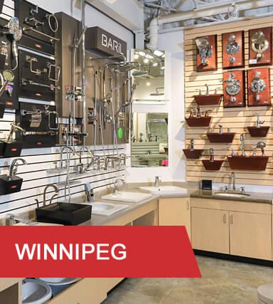 Kitchen & Bath Classics Winnipeg Faucets on Wall